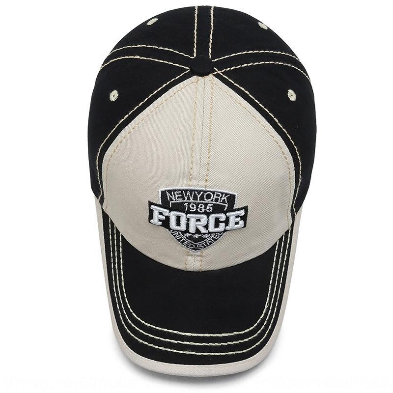 Şapka erkekler açık eğlence beyzbol spor beyzbol şapkası dağcılık seyahat şapka rüzgar mektup kadınlar için kapağı işlemeli