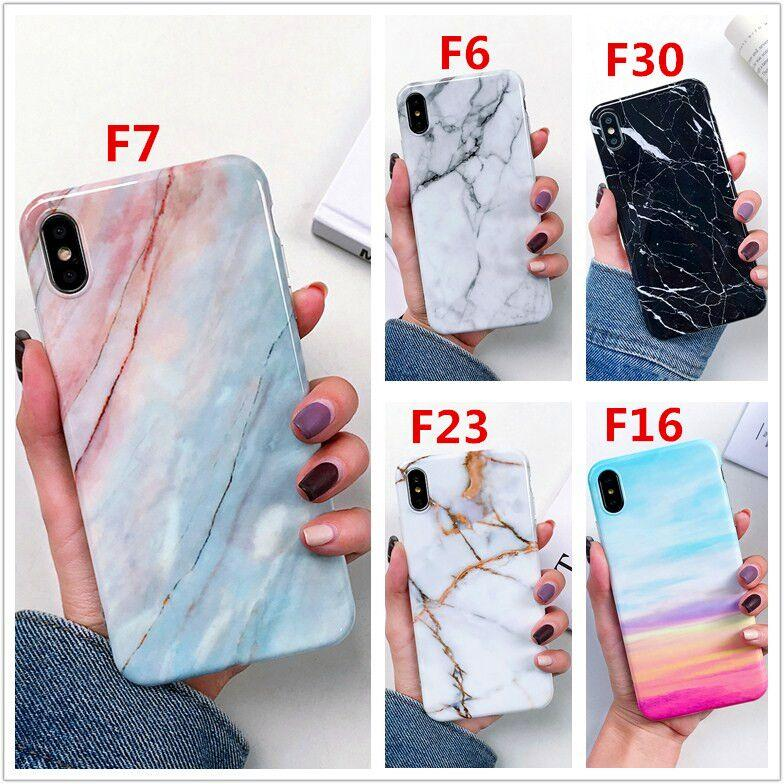 2020 Luxury Soft TPU Thick Cover Phone Marble Case for iPhone 12 11 Pro XS Max XR X 6 6S 7 8 Plus