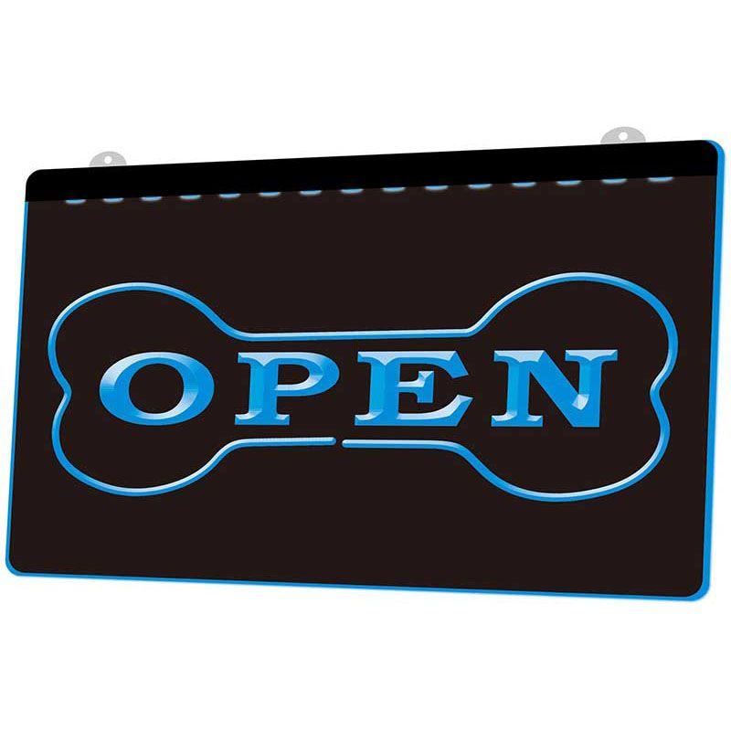 LS175 Açık Gecelik Dükkan Bar Pub Club Neon Işık Burcu