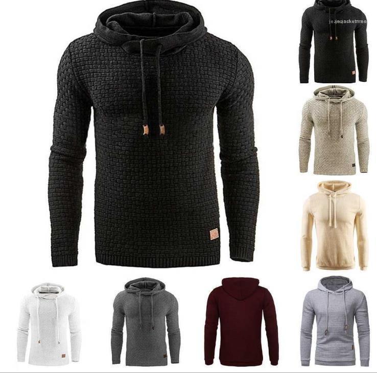 Slim Mode Homme Vêtements Hommes 2020 Designer Chemises à manches longues d'hiver Pull homme Pull Vestes Hoodies