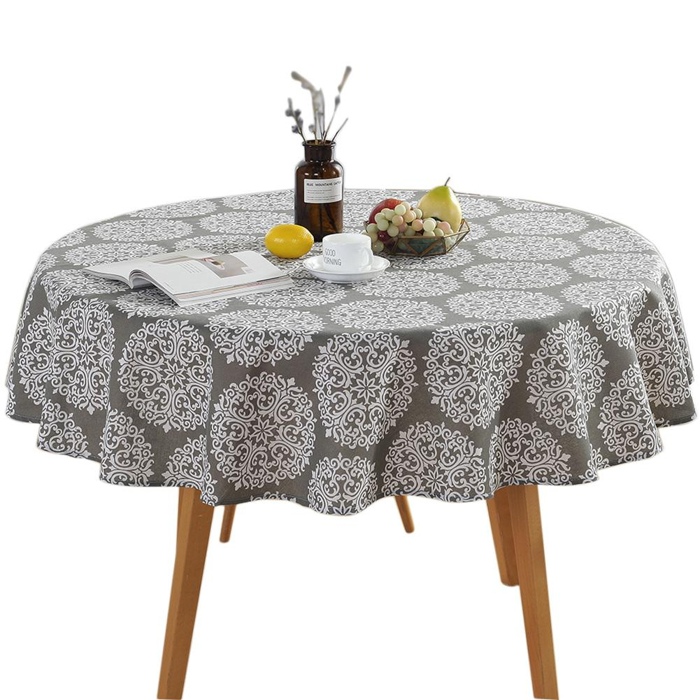 150cm Printing Party Round Table Cloth Patio Nordic Garden For Kitchen Vintage Dining Table Cloth Online Table Linen Online From Jaffaga007 13 08 Dhgate Com