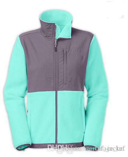 Prix le plus bas prix bas veste Les femmes Fleece Apex Bionic Softshell Manteaux d'hiver Sports de plein air Vêtements Manteaux S-XXL Noir Can Mix