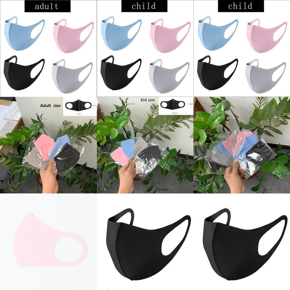 Maske Tasarımcı İpek Karşıtı Buz Toz Yüz Kapak PM2.5 Respiratörü toz geçirmez Yıkanabilir 07rb 34t4