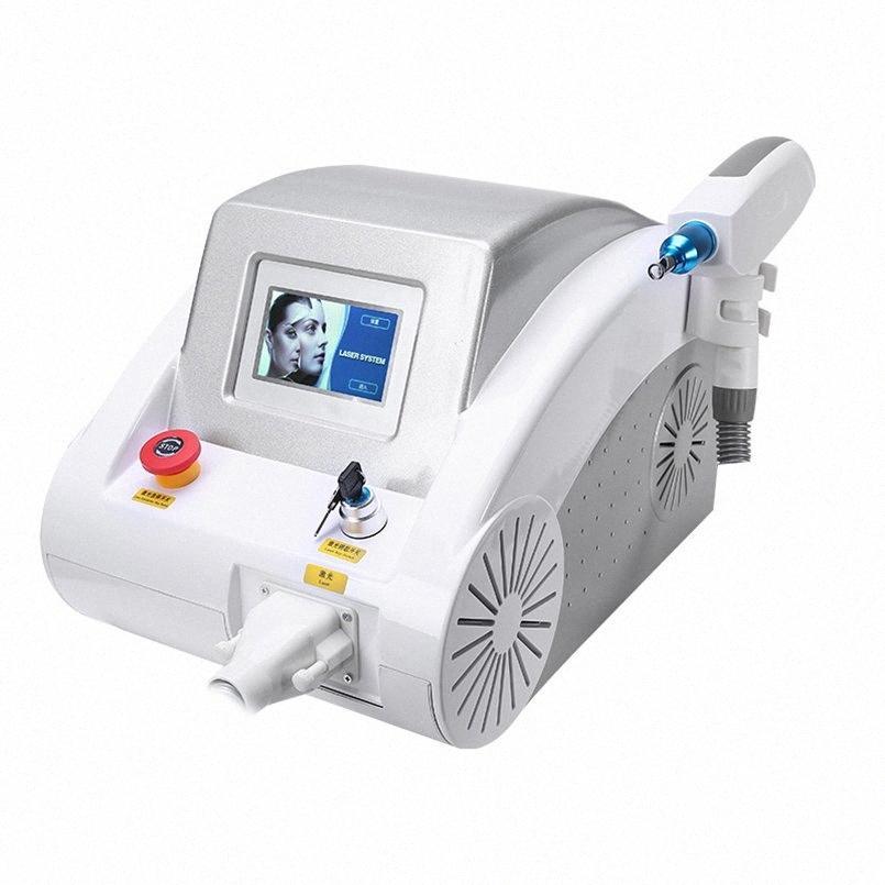 Interruptor nuevo portátil 2000MJ 532 nm a 1.320 nm tatuaje 1064 Pigmentos Q Eliminación láser Nd YAG Máquina de belleza Cuidado de la piel RF para la piel del RF Li hoKg #