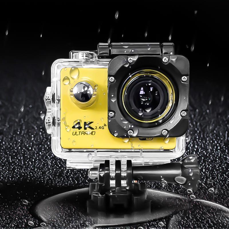"""kebidumei Action camera F60 / F60R Ultra HD 4K 30fps Wireless WiFi 2.0"""" 170D Go Cam pro underwater waterproof Sport camera"""