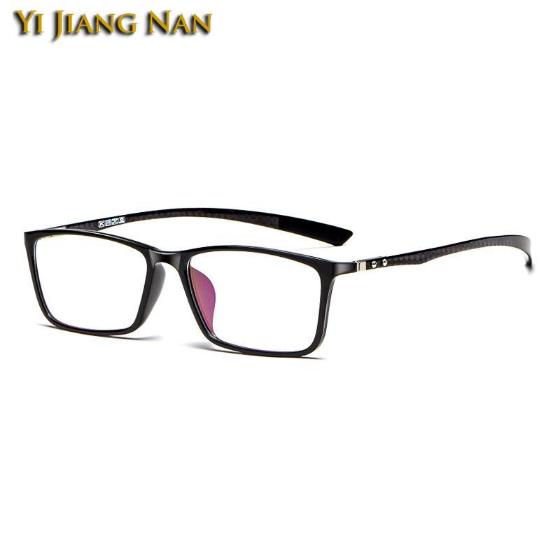 GLASSES GLASSES Eyewear TR90 prescrizione occhiali da vista cornice tempio qualità in fibra ottica occhiali per occhiali da vista Donne in carbonio TGFMB