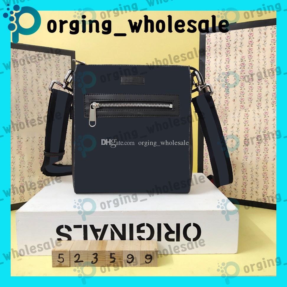 Quadratische Schulter Messenger Bag Aktentasche Mode Leder Designer Messenger Männer Taschen Taschen Arme Reise Hohe Qualität Classic qiaqx