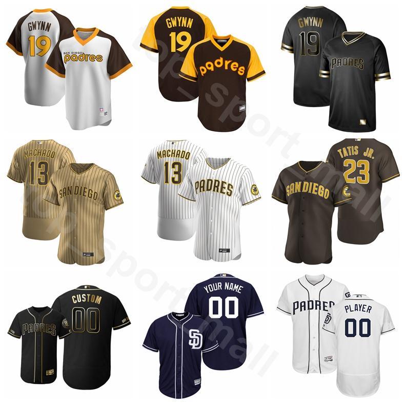 2020 Baseball 19 Tony Gwynn Jersey 2 Johnny Manziel 31 Dave Winfield 51 Trevor Hoffman 6 Steve Garvey Ian Kinsler Cooperstown Men Kids