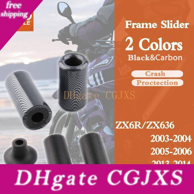 For Ninja Zx6r Zx -6rr Zx636 Zx 6r 03 -04 05 -06 13 -14 Frame Slider Crash Pad Falling Protection Motorcycle Parts