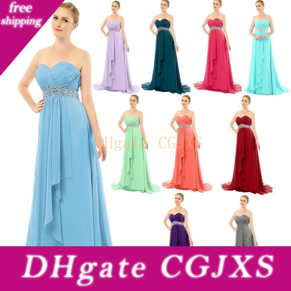 2020 vestidos de noche sin tirantes largo moldeado cristalino del baile Vestidos de barrido tren azul turquesa del trullo púrpura gris lavanda Borgoña por encargo