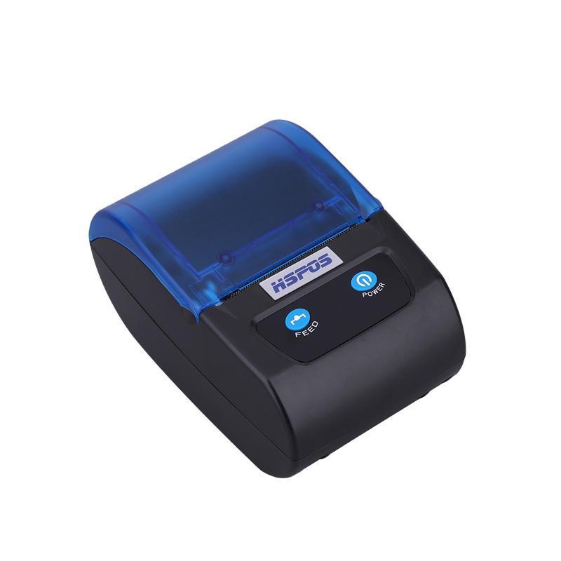 방수 설계-HS-PL58AI 휴대용 열전 사 프린터 2 인치 모바일 영수증 열 라벨 프린터