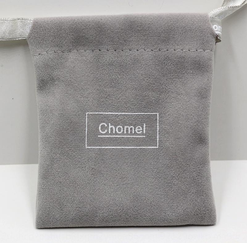 Cingapura embalagem Chomel flanela cartão de caixa de prata silv pano Singapura embalagem Chomel flanela mão colar de caixa de cartão bolsa saco