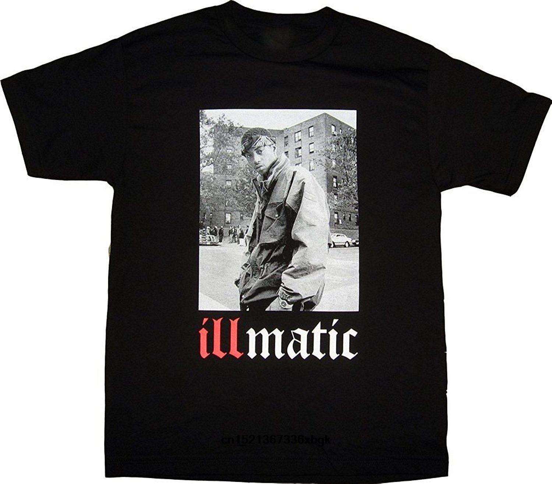 ISB produtos Ill Street Blues Golden Era real Hip Hop clássico Illmatic T-shirt Top Quality camisetas Homens O Neck Top T
