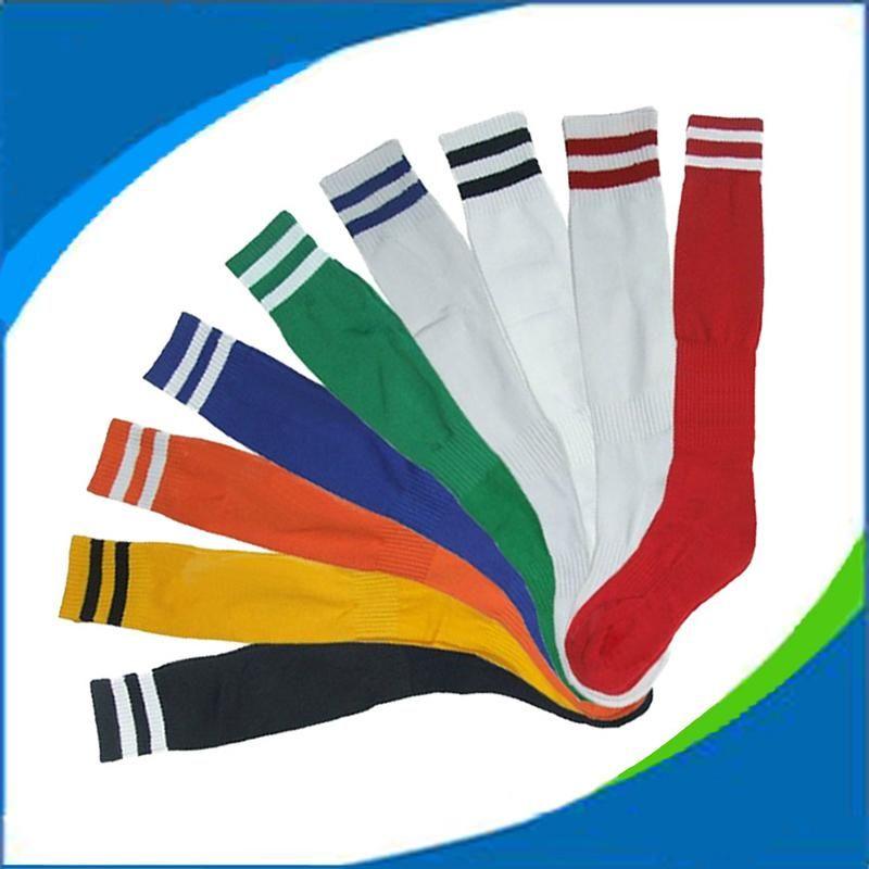 Football Socks Sports Long Tube Adult Socks chaussettes de football Preferred High Elastic Textile Material Non-slip Sweat Basketball Socks