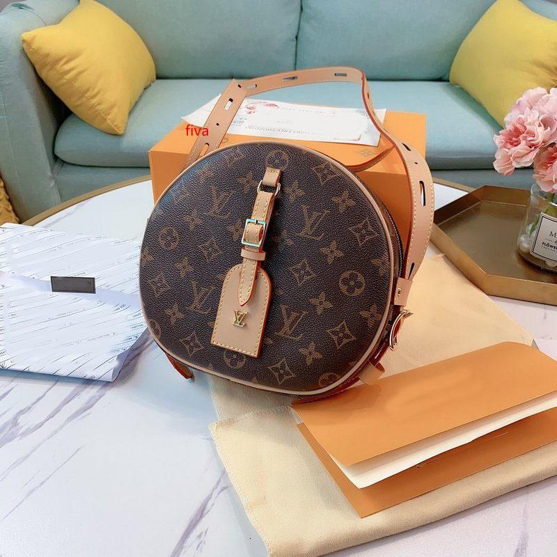 üst tasarımcıların çanta üst M43510 orijinal Renk değişimi deri omuz çantası messenger çanta debriyaj cüzdan hurma yayı Presbiyopi dairesel çanta