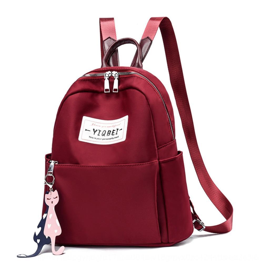 Kadın 2020 yeni Kore tarzı moda Moda Çanta sırt çantası çanta kadın her maç gündelik sırt çantası büyük kapasiteli