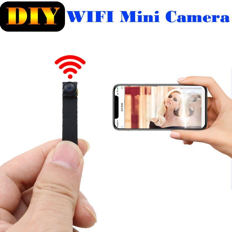 JOZUZE 720P Wi-Fi Wireless Mini Network Camera Surveillance WIFI Camera Audio Video Recorder Camcorder IP P2P Micro Cam