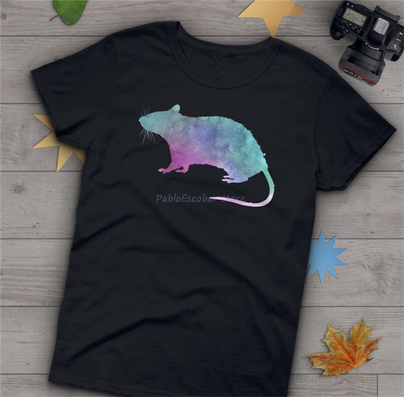 Rat T-shirt, S, M, L, 1-5XLMens Femmes, Animaux cadeaux, amant Rat, souris, marine blanc élégant T-shirt personnalisé