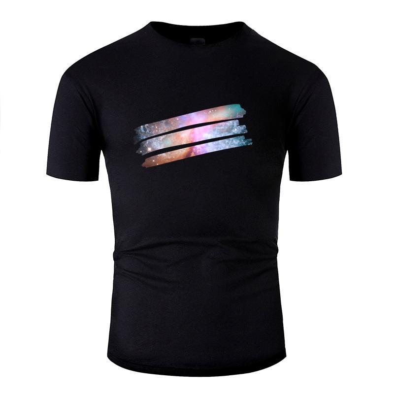 Imprimé Lumière du soleil Peinture cosmique t-shirt pour hommes Coton Anti-rides Comics T-shirts Solide Couleur Taille Plus S-5XL