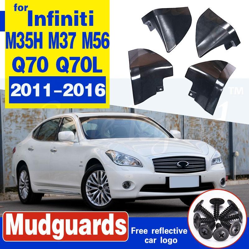 CAR Spritzschutz Schmutzfänger Schmutzfänger FENDER FIT FOR 2011-2016 Infiniti M35h M37 M56 Q70 Q70L