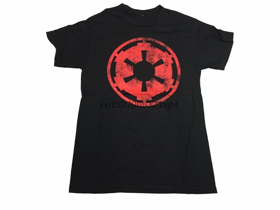Envelhecimento Empire Logo Insignia clássico Vintage Filme Homens T shirt S-XL Streetwear Tee Camisa Casual