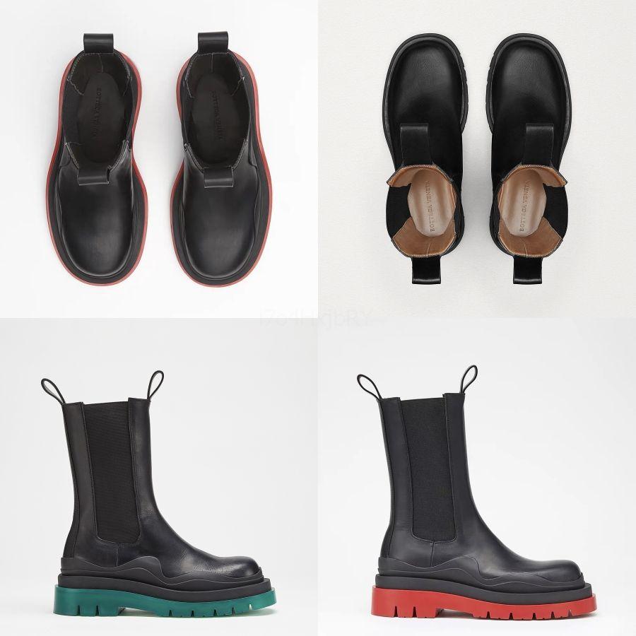Luxury Designer Womenboots Camo Half Boot Bottes d'hiver pour hommes neige plate-forme étanche bottillons 36- # 942 gros