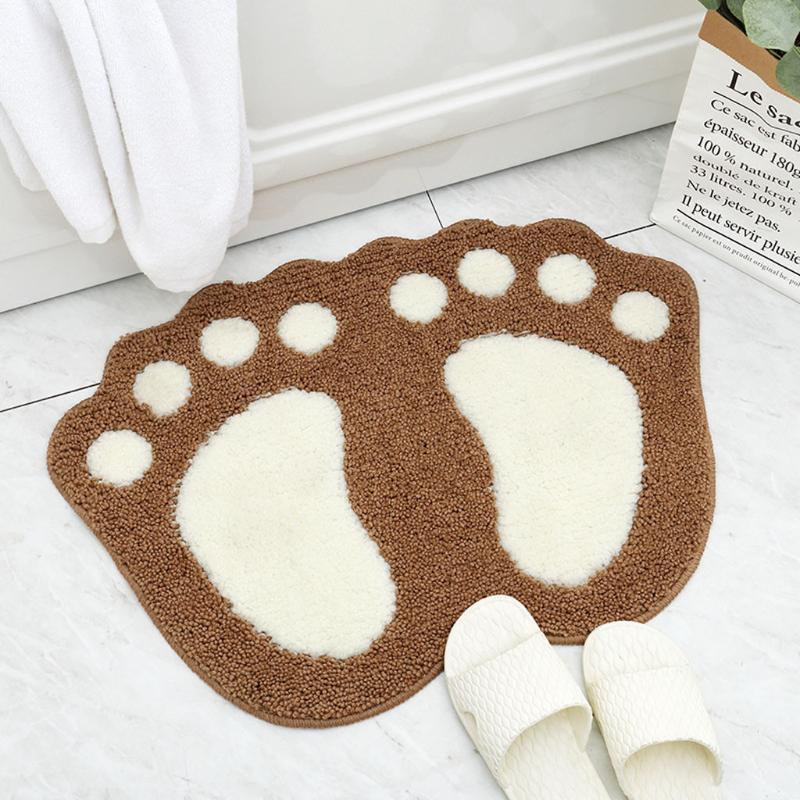mejor venta de 2020 productos súper absorbente gruesa alfombra de baño antideslizante Cocina Baño Pavimento Alfombra Puerta del cojín ayuda dropshipping