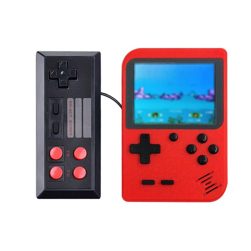 Portable Game Player Retro Mini Game Console 8-bit video games with handle TV Output For FC Games 500 games free shipping