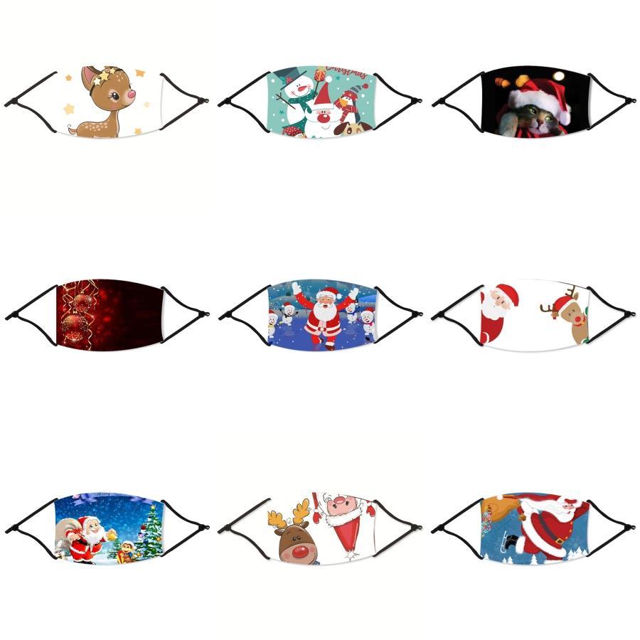 Wholesale nette Baumwolle S-Masken-Druck Cartoon-Gesichtsmaske Mädchen Jungen Warm Anti Haze Staubmaske Nase Filter Gesicht Muffle # 55311