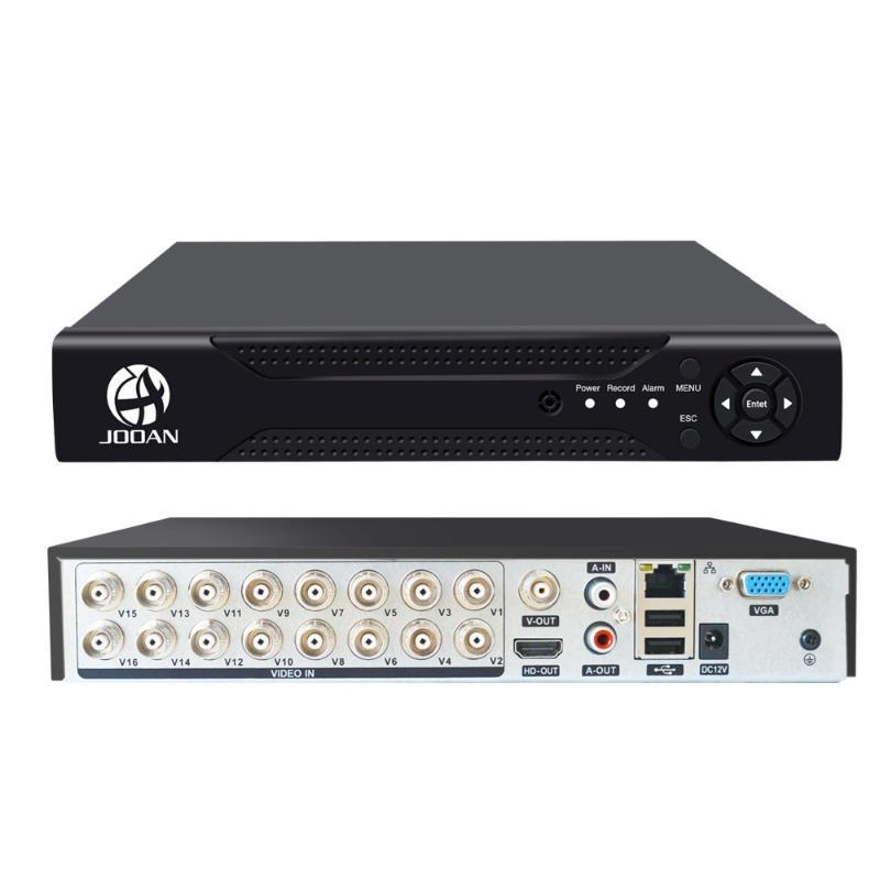 16CH DVR TVI AHD analógica Câmeras IP HD P2P Nuvem H.264 VGA HDMI AHD TVI CVI 16CH DVR Gravador de Vídeo Recorder Com 2 TB de disco rígido