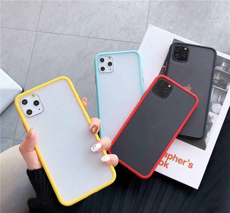 iPhone 11 Huawei P40Pro Mate30 için lens koruma çerçevesi Telefon Kapak PC + TPU arka Kapak ile yanlısı Kılıf için şeffaf Cilt Telefon Kılıfları