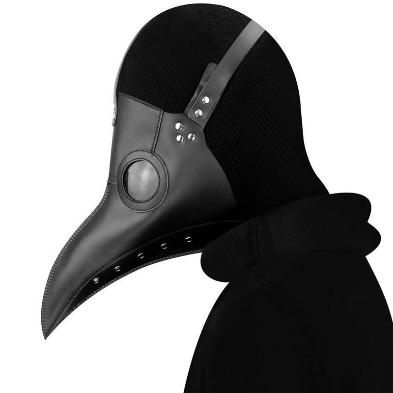 Creative Peste oiseaux Motif Masques unisexe personnalité Jour Halloween Charm Hommes Femmes Masque Usine de gros Cos-play Parti Masques