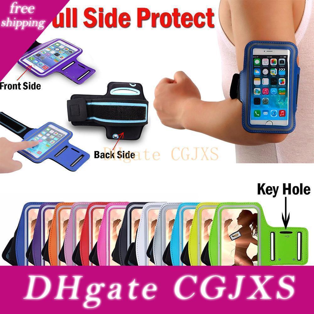Impermeabile Sport cassa del bracciale del bracciale di sport di ginnastica sacchetto della cassa del sacchetto della cinghia per Iphone 6 7 8plus X Xr 11 11 Pro Max Samsung S10