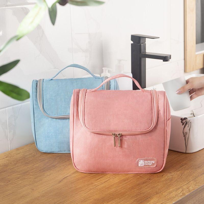 Hot vente suspendu crochet adhésif lavage stockage bagCosmetic sac bagstorage sac cosmétique Voyage portable multifonctionnel imperméable q0cL1 q0cL