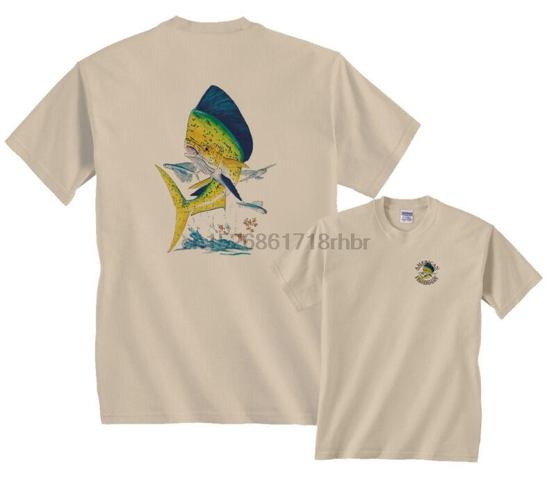 Bull Дельфин Рыбалка футболку Зазор