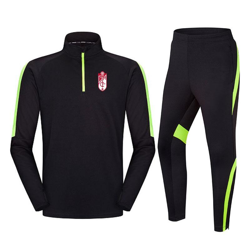 Granada Football Club Hot Men's Training Training BoySted Jacket الركض في الهواء الطلق رياضية عارضة ومريحة دعوى كرة القدم