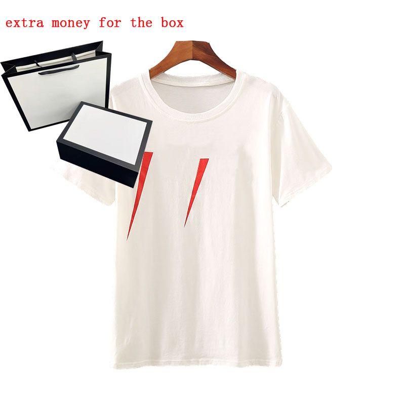 21SS Men T-Shirt Stylist Lettera Stampa Crew Collo Casual Estate Estate Traspirante Mens T-shirt T-shirt a colori solidi Top Tees