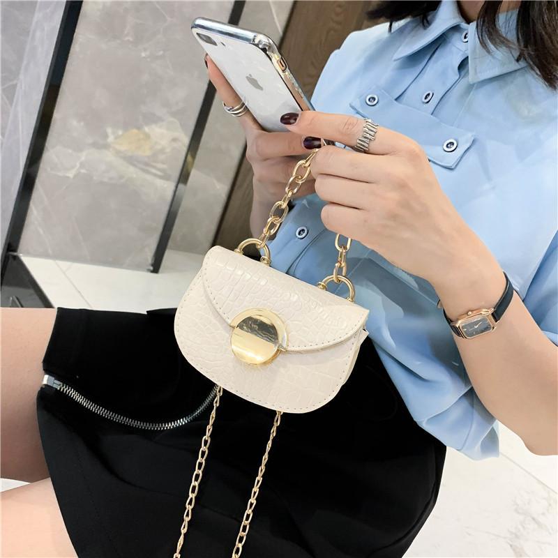 Crossbody for Damen Mode Schulter Krokodil 2020 Boho Mini Designer Weiße Leder Handtaschen Taschen Tasche Frauen Parfüm Luxus Tasche xskmm