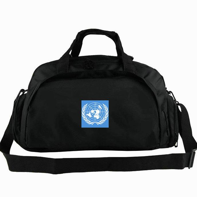 fourre-tout drapeau monde New- 2 voies utilisation sac à dos épaule bannière bagages voyage duffle pack fronde Sport