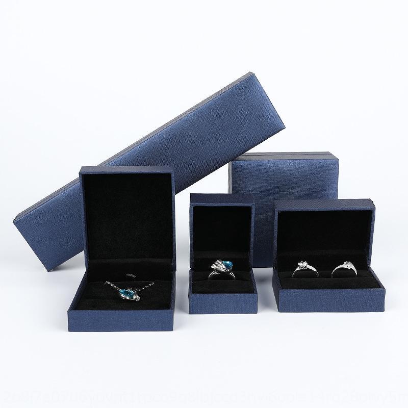 Embalaje de la boda de caja colgante de collar de la joyería anillo de los pendientes del anillo colgante de regalo pulsera SyoBI