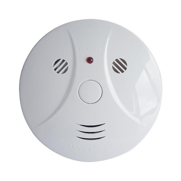 Détecteur de fumée sensibles au feu d'alarme sans fil Accueil Sécurité Alarme Détecteur de fumée Détecteur d'incendie Équipement Smokehouse