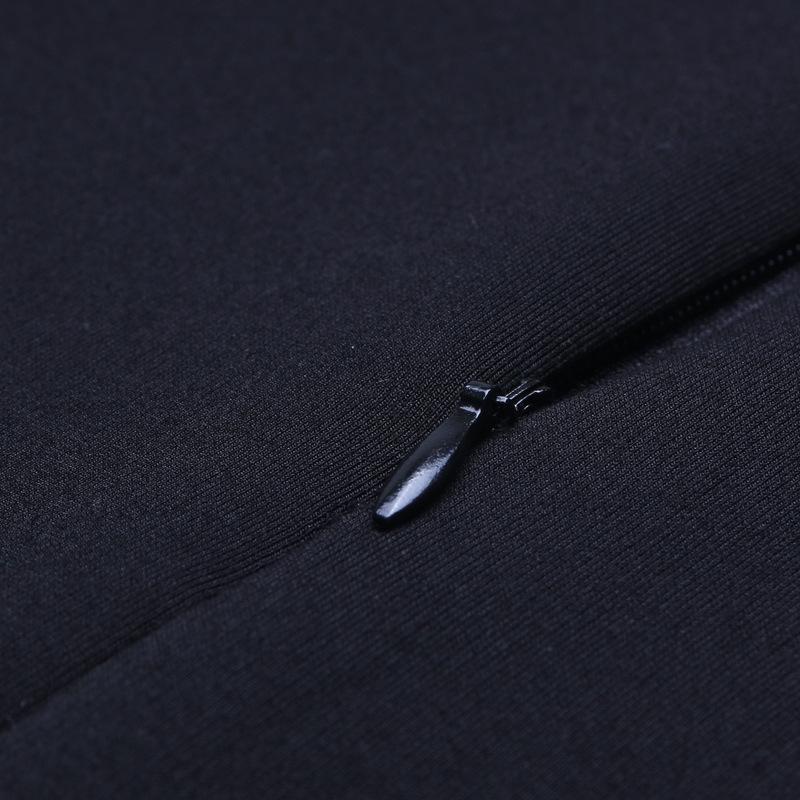 L2b7l Профессиональные бедра женщин 2019 весной и осенью Корейский стиль высокой талии похудение Один шаг один шаг юбка черная стрейч юбка
