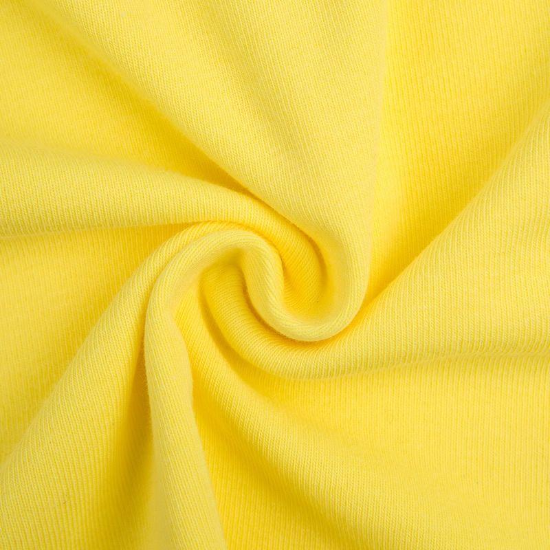dQies Huayouyuan chaleco liga del verano costilla de algodón camisa delgada de las mujeres de la honda de la honda de las mujeres de color caramelo camisa de la base deportiva