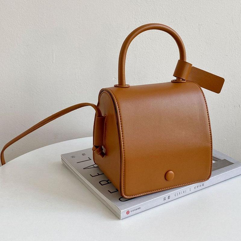 Messenger Ledertasche Crossbody Frauen 2020 neue Tasche Mode Schulter PU Kleine Schulter Square Handtasche Tragbare Ooulf