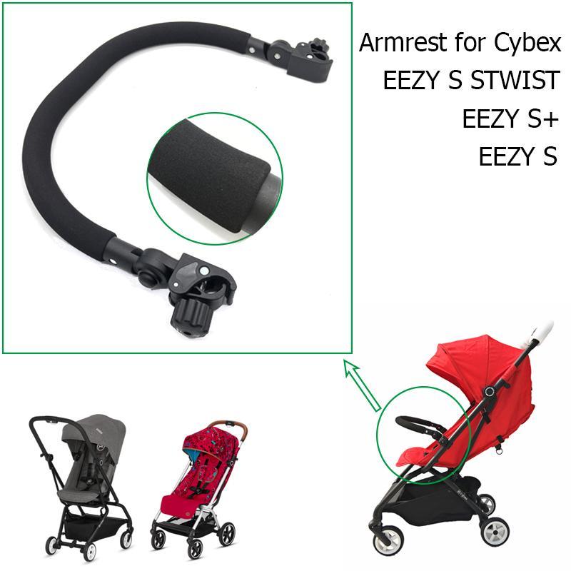 Bebek Arabası Aksesuarları PU Deri Kolçak Ön Tampon Cybex Eezy S S + S TWIST Arabası Tasarımı CX200813 için Ön Emniyet Railing