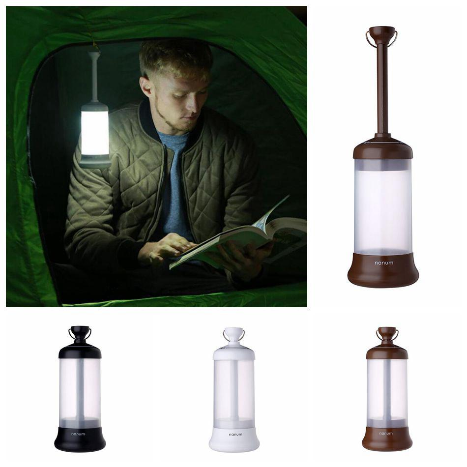 Al aire libre del USB LED de luz de camping linterna recargable portátil de viaje de automóviles de emergencia Noche de luz de lámpara de emergencia OOA4814