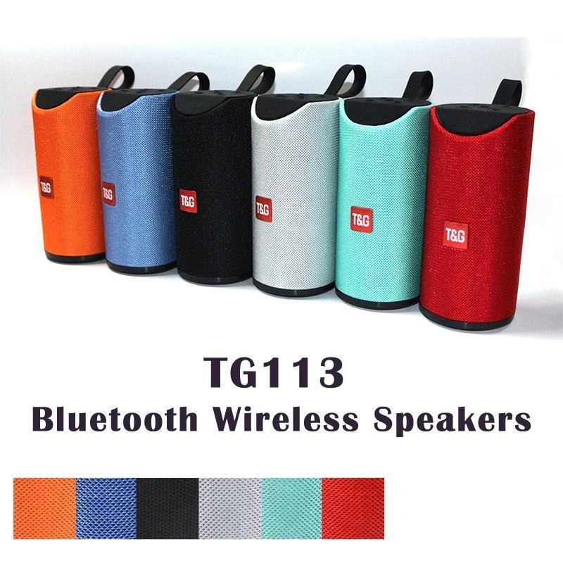 المتحدثون HOT TG113 مكبر الصوت بلوتوث اللاسلكية مكبر للصوت يدوي نداء الملف ستيريو باس باس الدعم TF بطاقة USB AUX الخط في مرحبا فاي