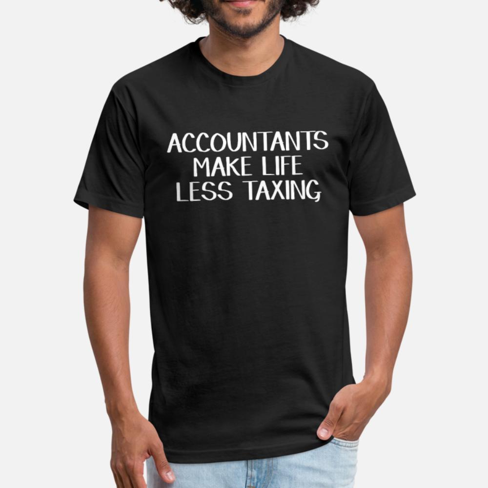 contadores tornar a vida menos desgastante camiseta homens criam camisa de manga curta O-Neck Vintage presente cómico Primavera Outfit