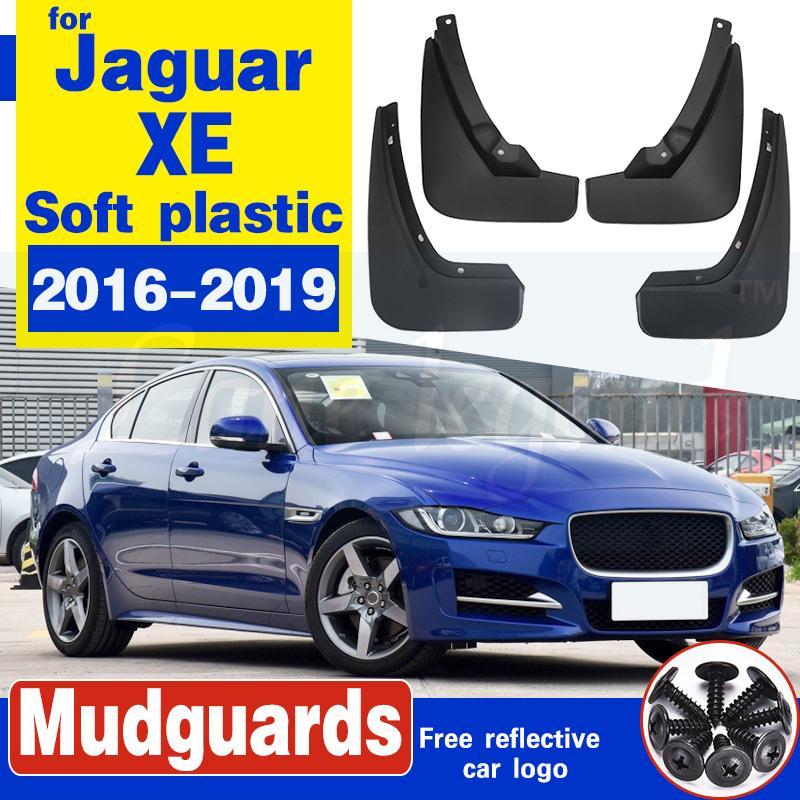 4 PCA Front Rear Car Schmutzfänger für Jaguar XE 2016 2017 2018 2019 Fender Mud Flaps Guard Spritz Flap Radschützer Zubehör