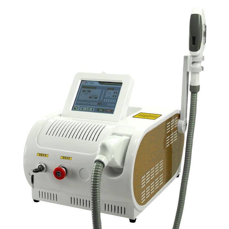 Lazer Epilasyon Makinesi Kalıcı SHR Opt IPL Saç Sökücü Cilt Gençleştirme Pigment Akne Terapisi Salon Kullanımı